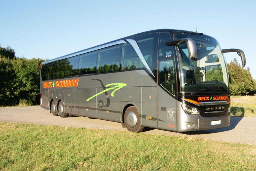 2014: Die SETRA TopClass 500 geht in Serie – ein S 517 HDH!